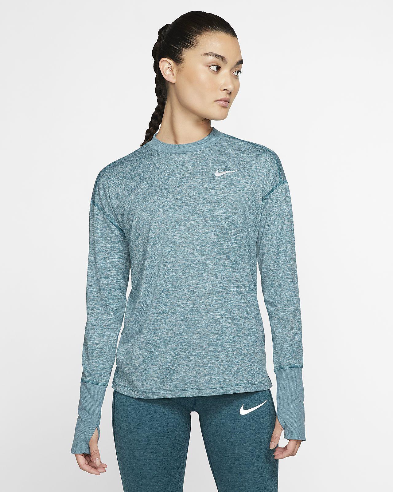 Camiseta de running para mujer Nike Element