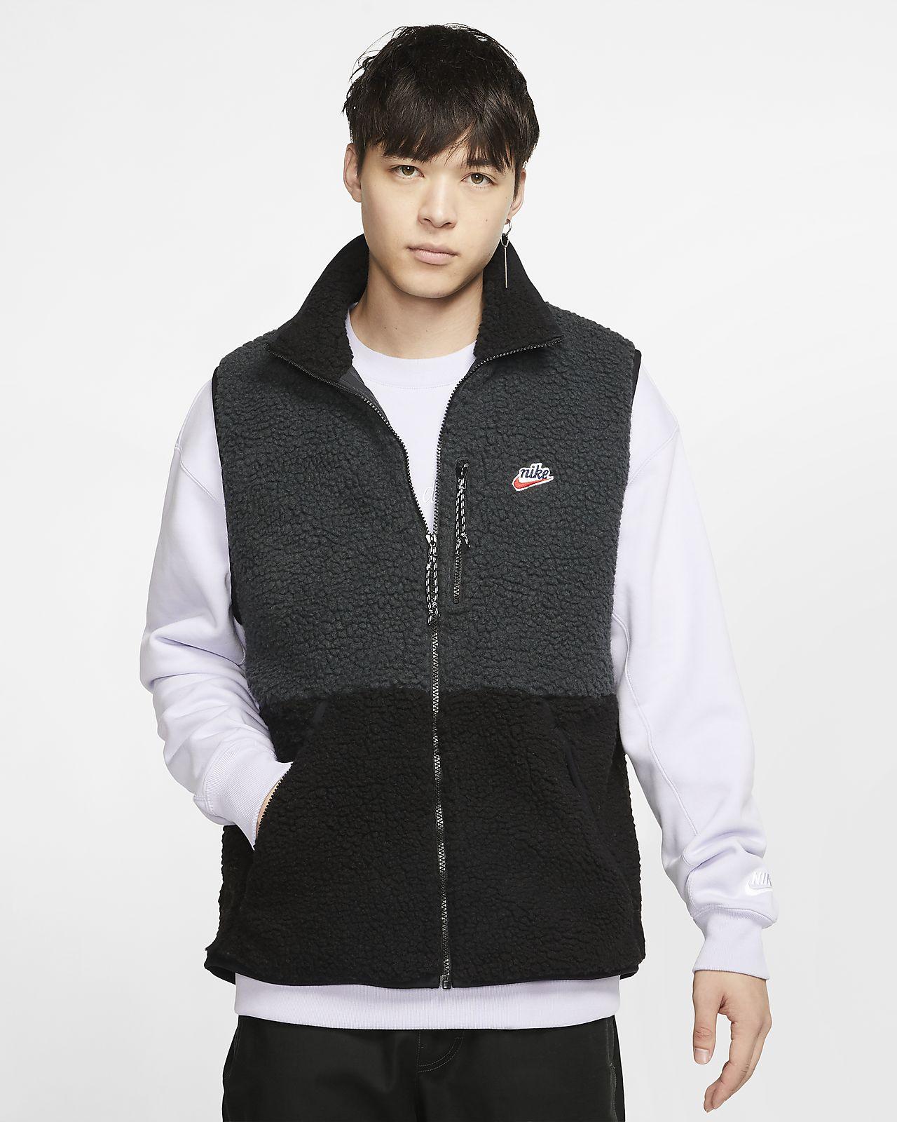 Chaleco para hombre Nike Sportswear Sherpa Fleece