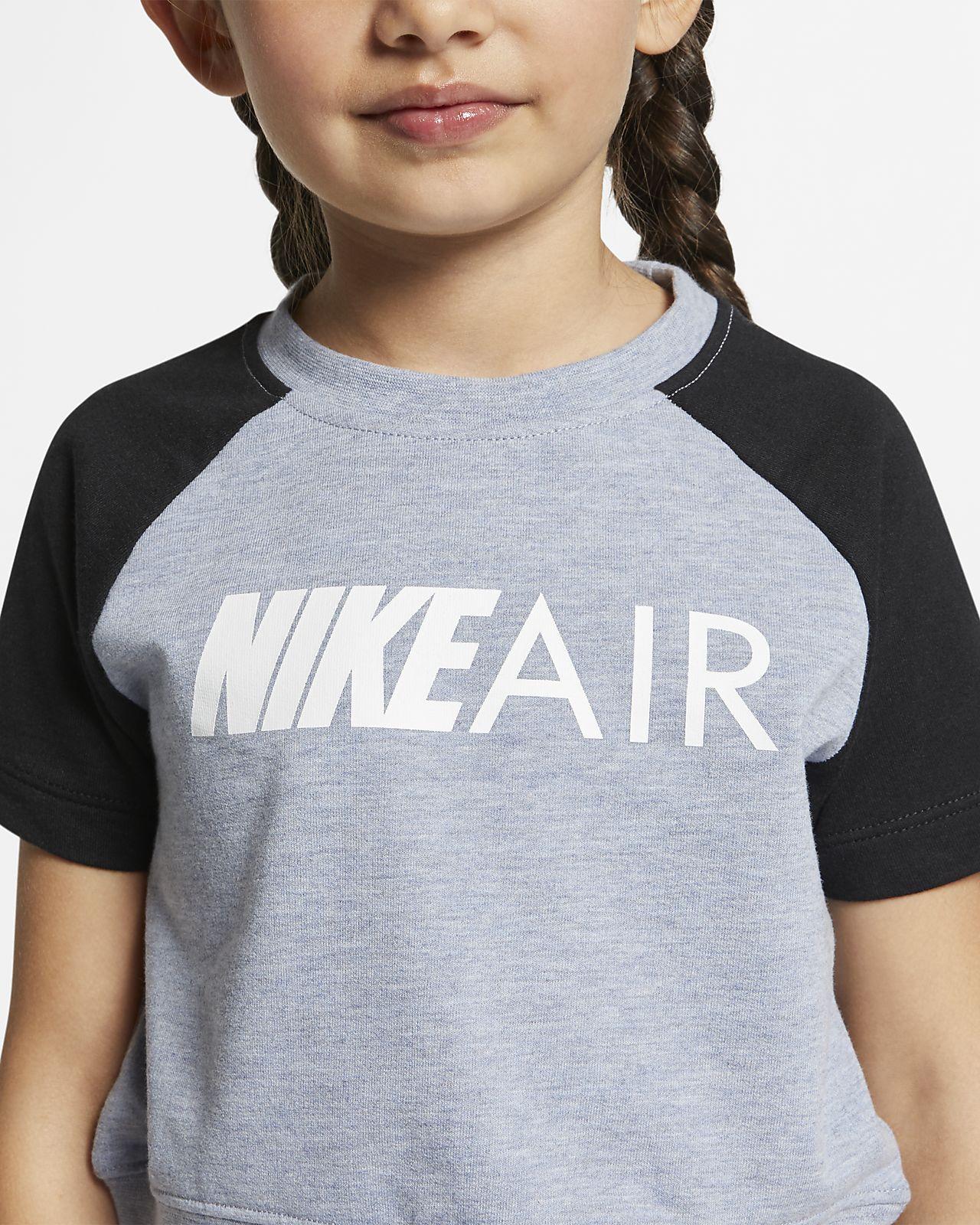 2222040c7f7 Nike Air Little Kids' Cropped Top. Nike.com