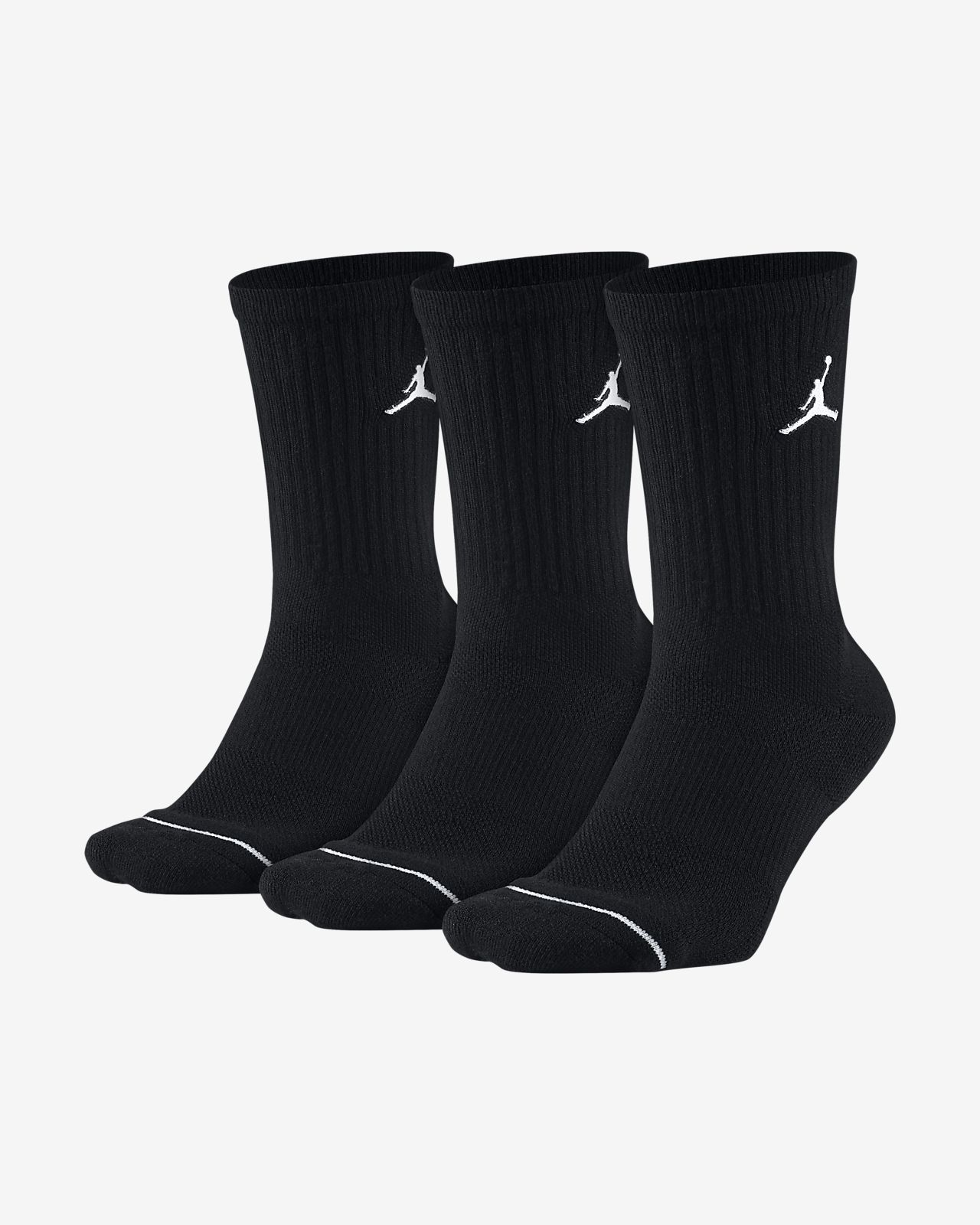Basketstrumpor Jordan Jumpman Crew (3 par)