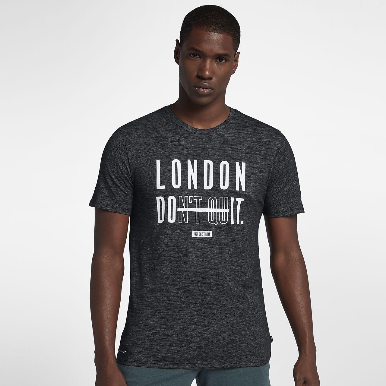 89f4474a Nike Dri-FIT (London) Men's Training T-Shirt. Nike.com AT