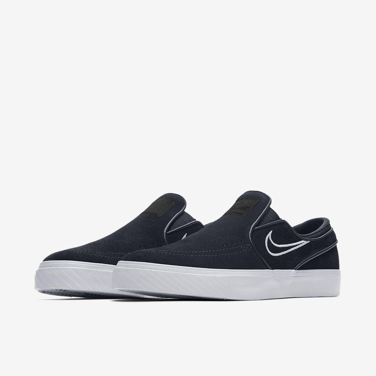 Nike Sb Janoski Slip On Sneakers In Black - Black Nike 19zqUaW4S1