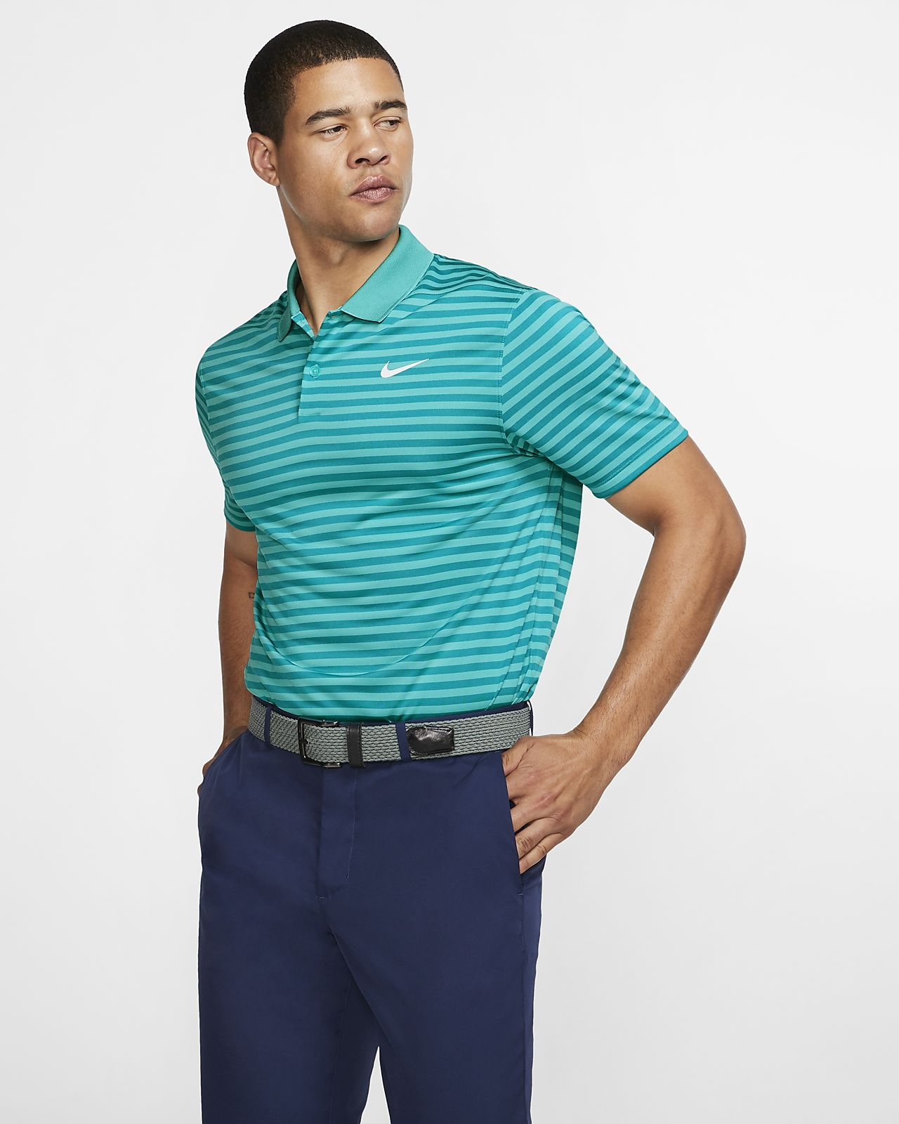 27366fd843ce9 Nike Dri-FIT Victory Men's Striped Golf Polo. Nike.com