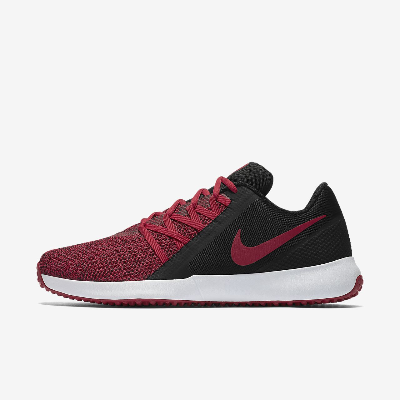 Nike Men's Varsity Complete Trainer Shoes (Black/Gym Red)