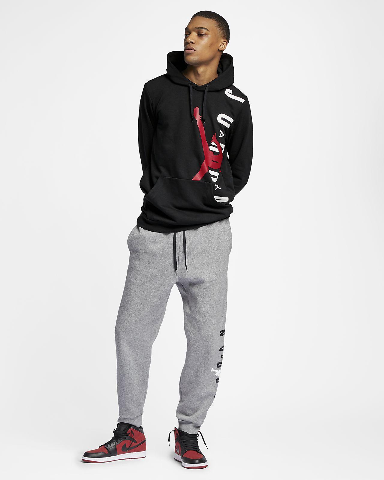 70b7890cbcf0f0 Jordan Jumpman Air Lightweight Men s Fleece Sweatshirt. Nike.com NZ