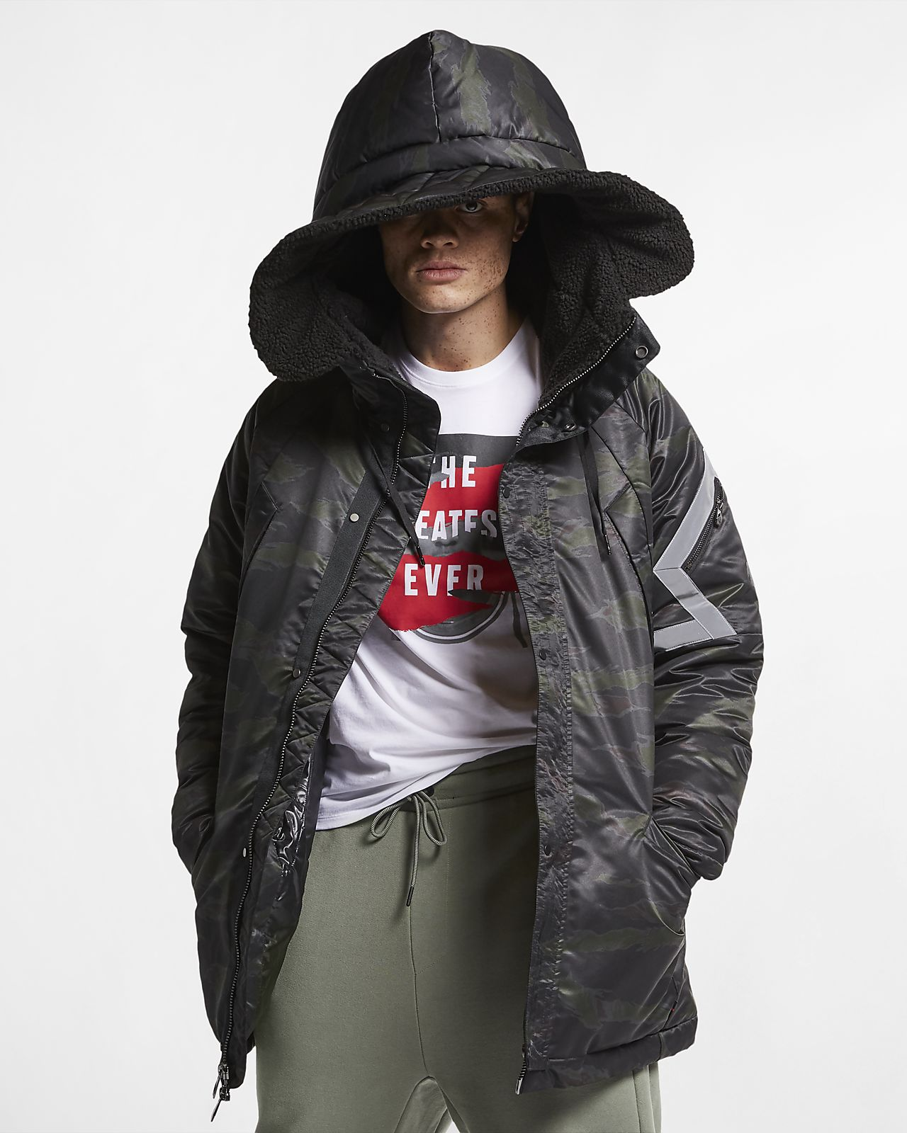 Parka Jordan Sportswear J-3B Flight pour Homme