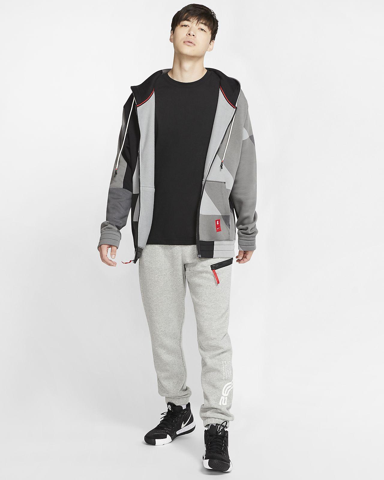 Nike Men's Kyrie Full Zip Hoodie   Hoodies   Hoodies and