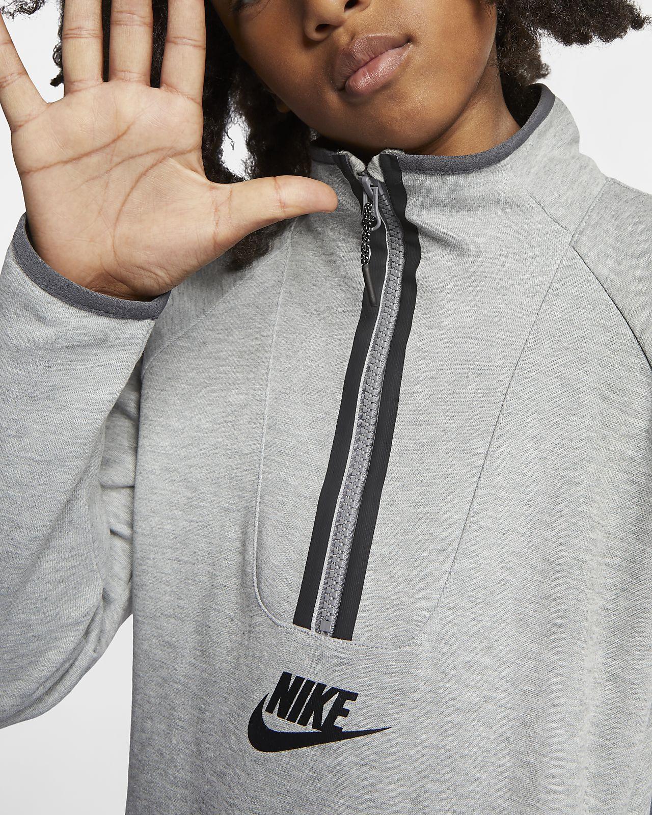 148bdd29da74b Haut à manches longues Nike Sportswear Tech Fleece pour Enfant. Nike ...