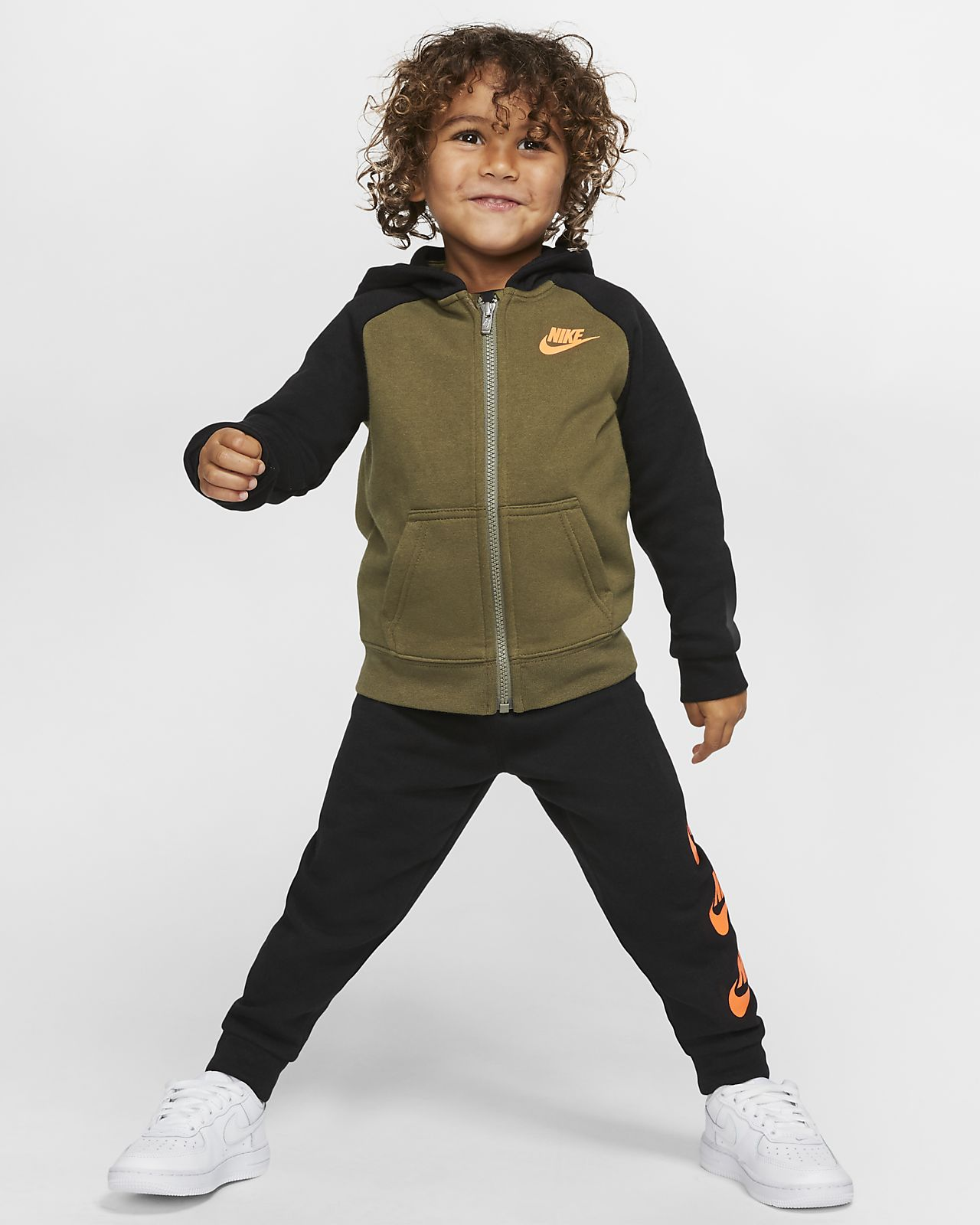 Nike Sportswear Toddler Hoodie and Pants Set