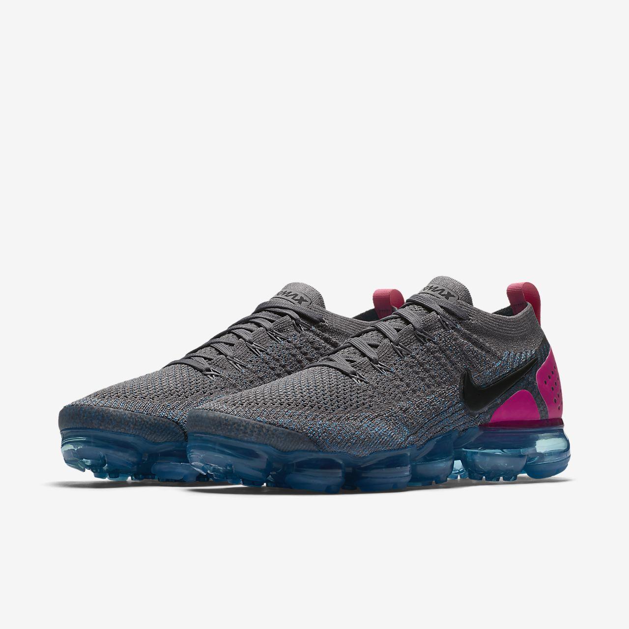 online retailer d8fcd e5429 Nike Air VaporMax Flyknit 2018.5 Triple Black Men's Running ...