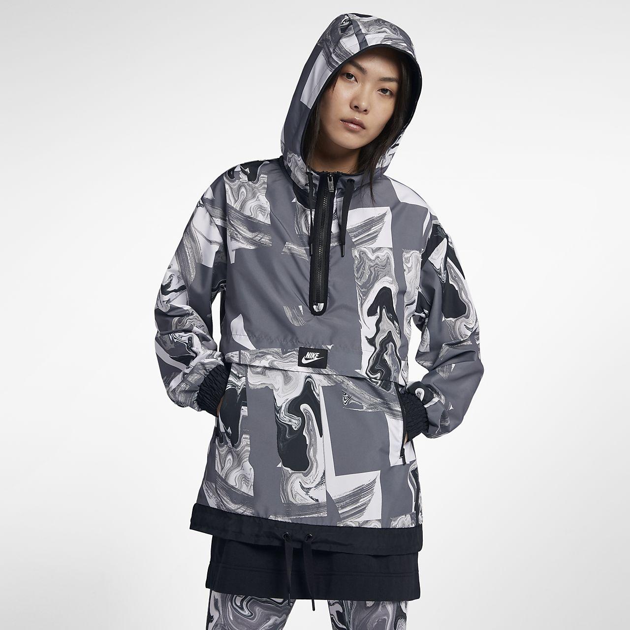 Nike Sportswear Baskılı Kadın Ceketi