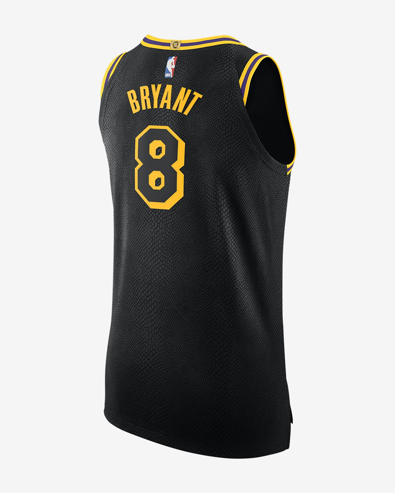 740a3eca5 ... Kobe Bryant City Edition Authentic (Los Angeles Lakers) Camiseta Nike  NBA Connected - Hombre