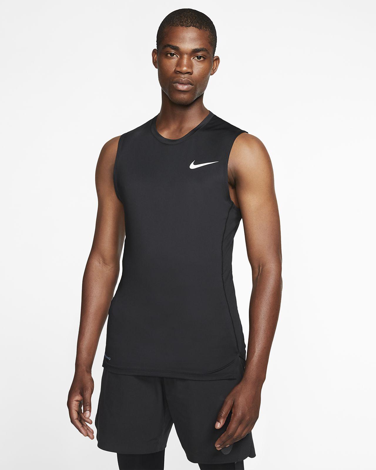 Ärmlös träningströja Nike Pro för män