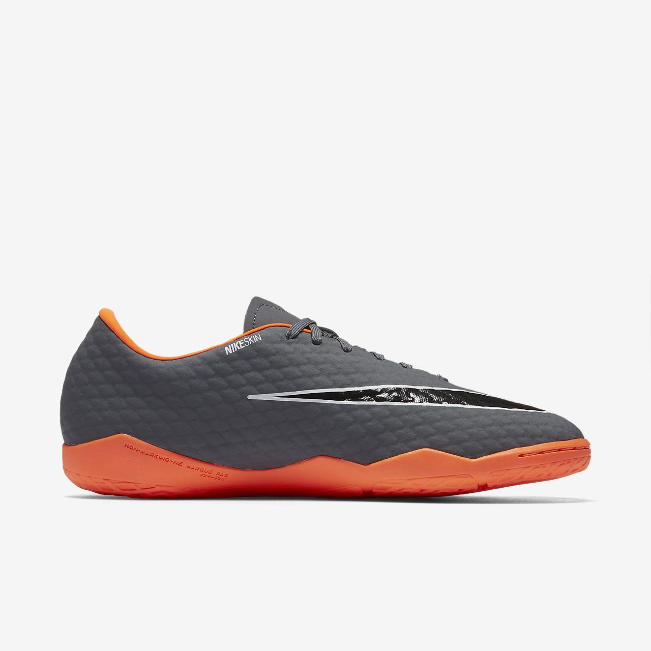 ZOOM PHANTOMX 3 PRO IC - Fußballschuh Halle - dark grey/total orange/white IeT7gSW9je