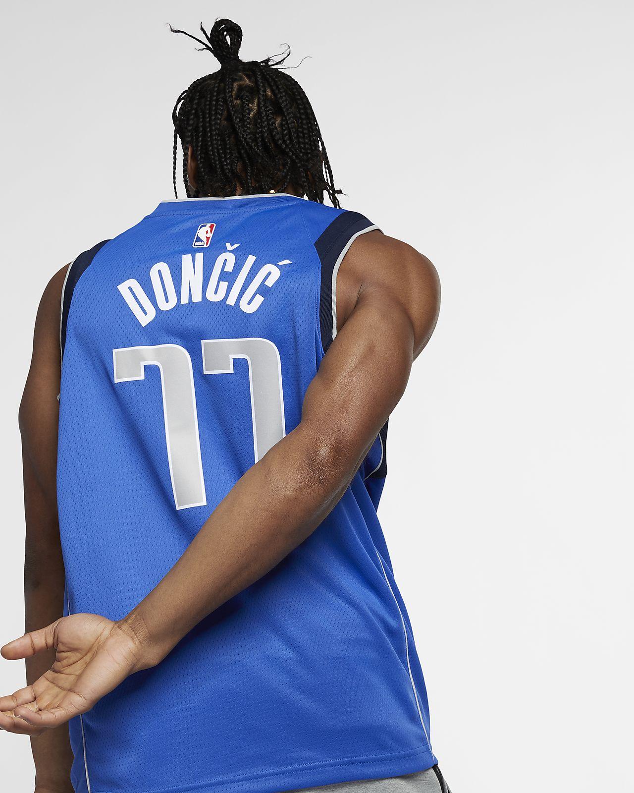 ... Luka Dončić Icon Edition Swingman (Dallas Mavericks) Men s Nike NBA  Connected Jersey 9934c6f2b