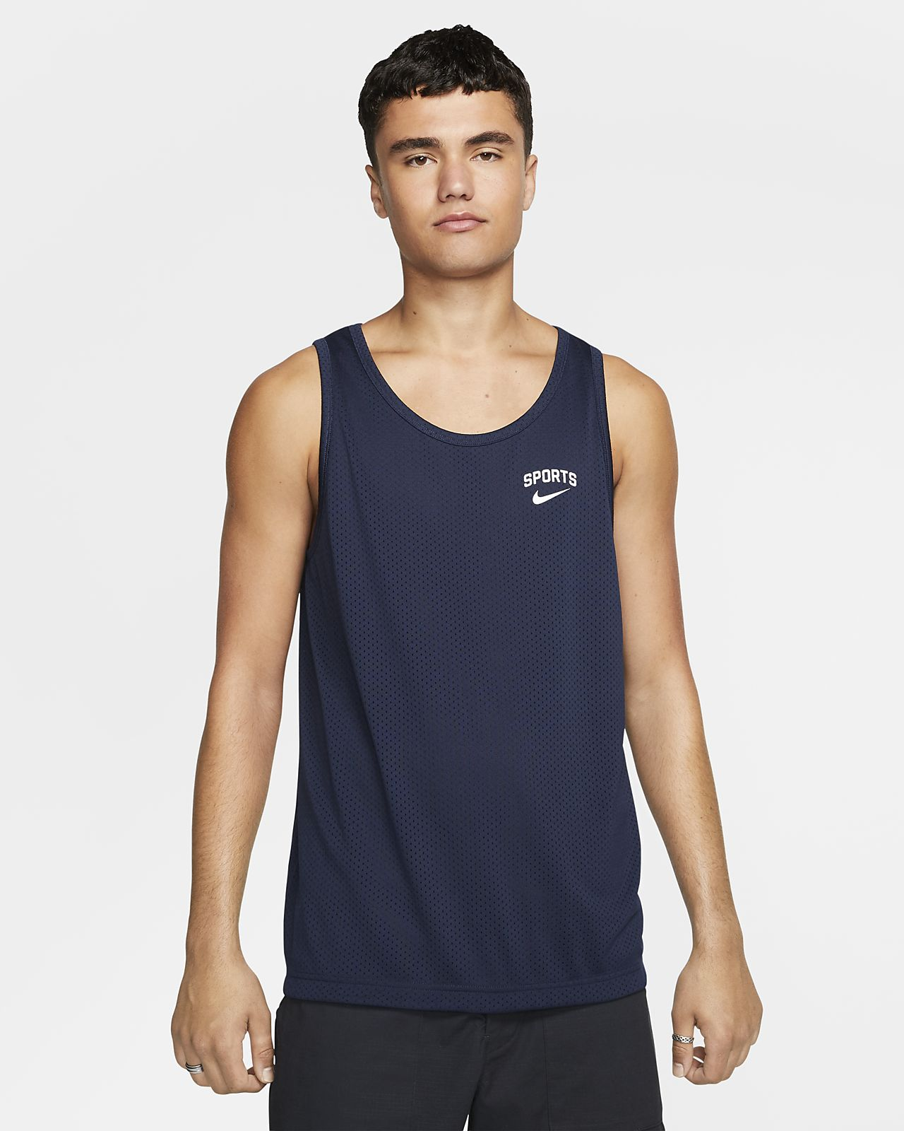 Nike SB Dri-FIT Samarreta de tirants estampada de skateboard - Home