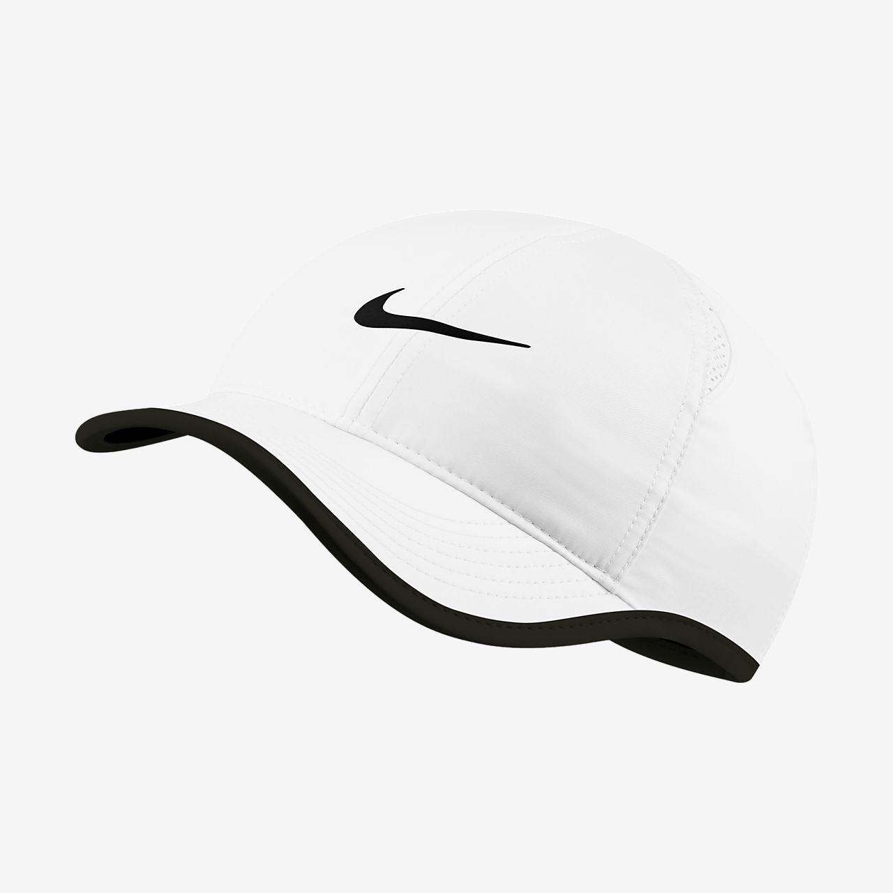 หมวกแก๊ปเทนนิสผู้หญิง NikeCourt AeroBill Featherlight