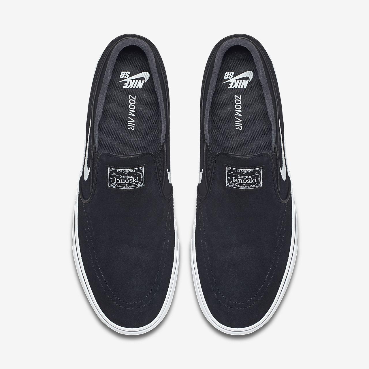 online retailer 1fe8b 056eb ... Nike SB Zoom Stefan Janoski Slip-On Men s Skateboarding Shoe