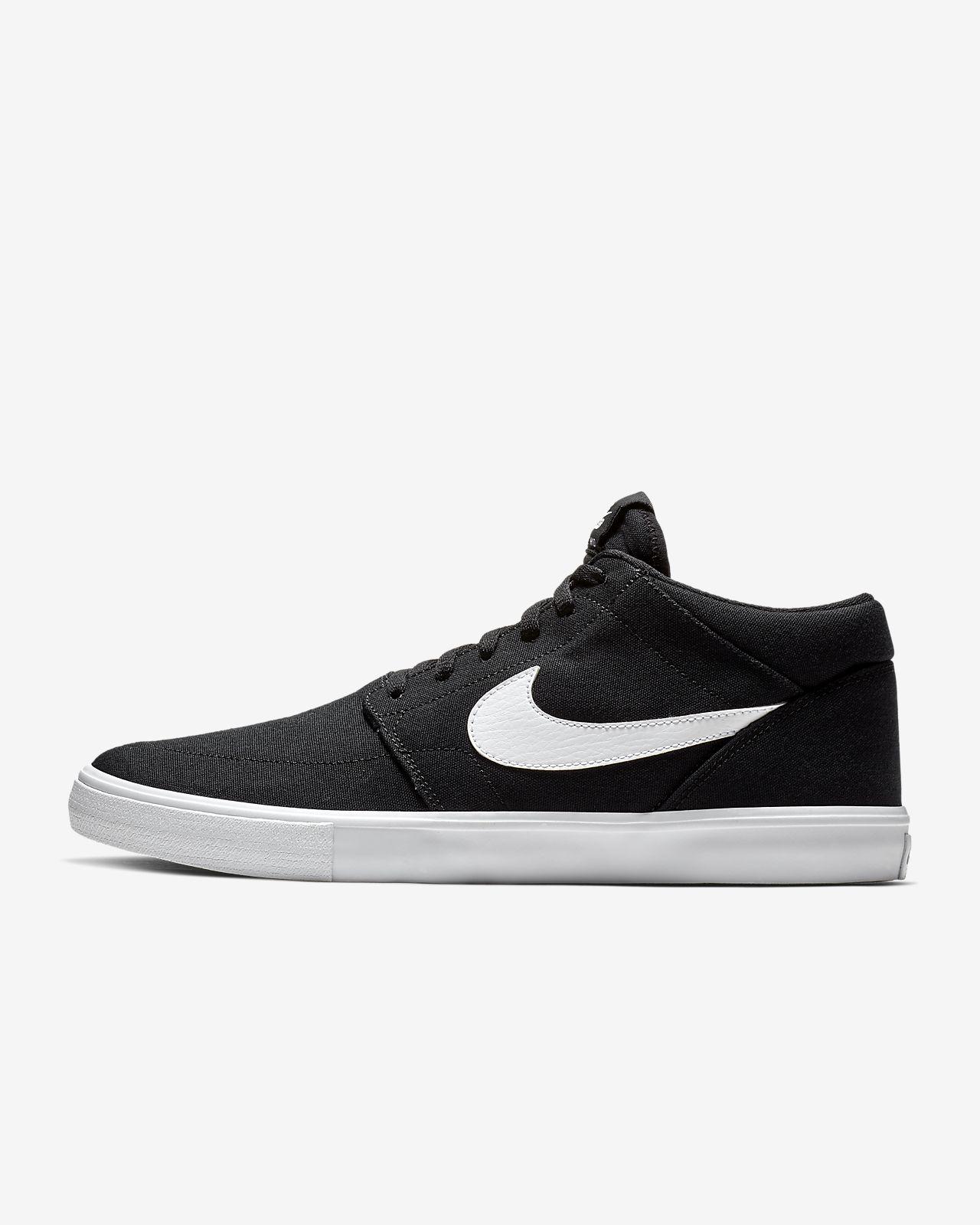 f6ced59f32df Nike SB Portmore 2 Solarsoft Mid Canvas Men s Skate Shoe. Nike.com