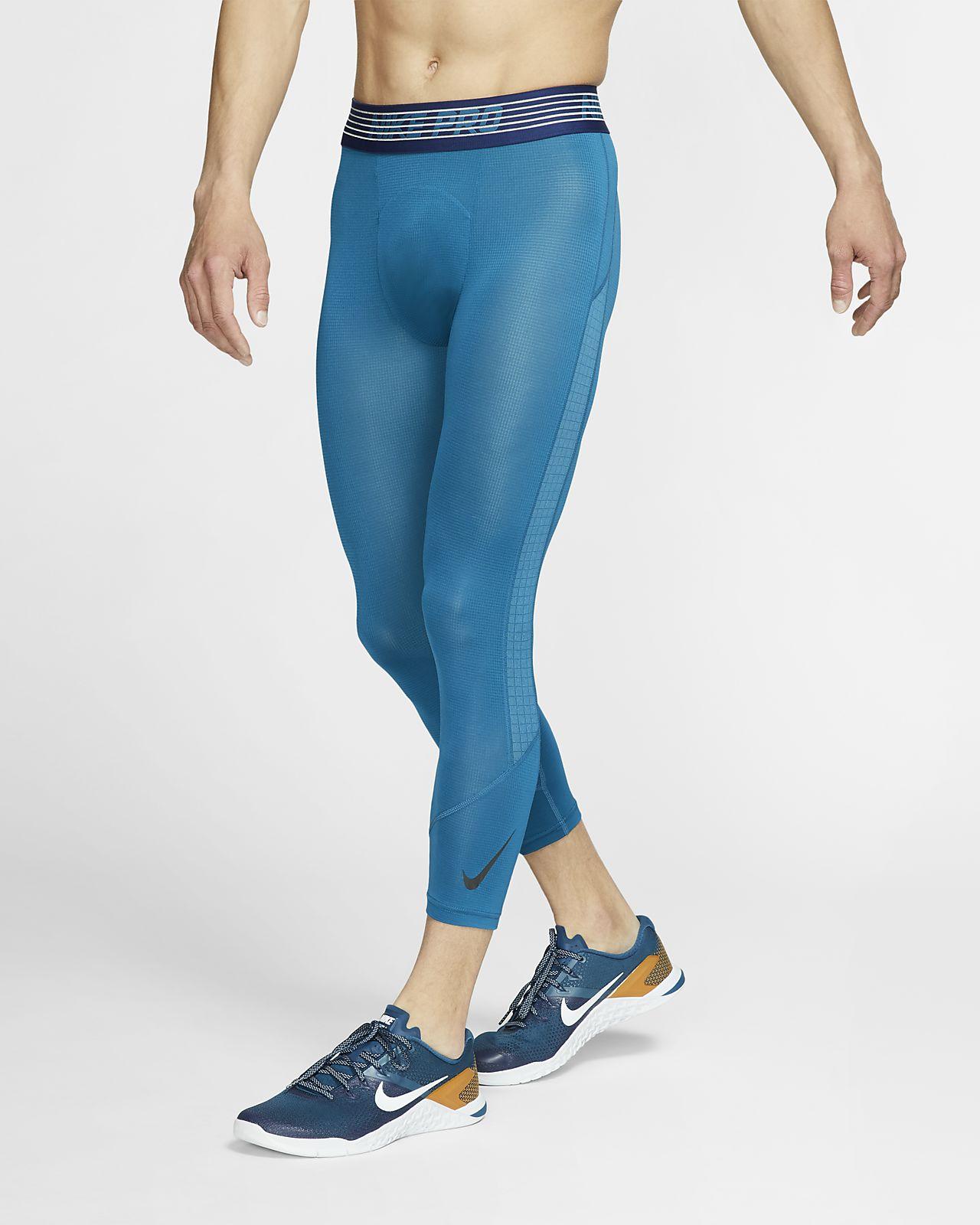 Męskie legginsy o długości 3/4 Nike Pro