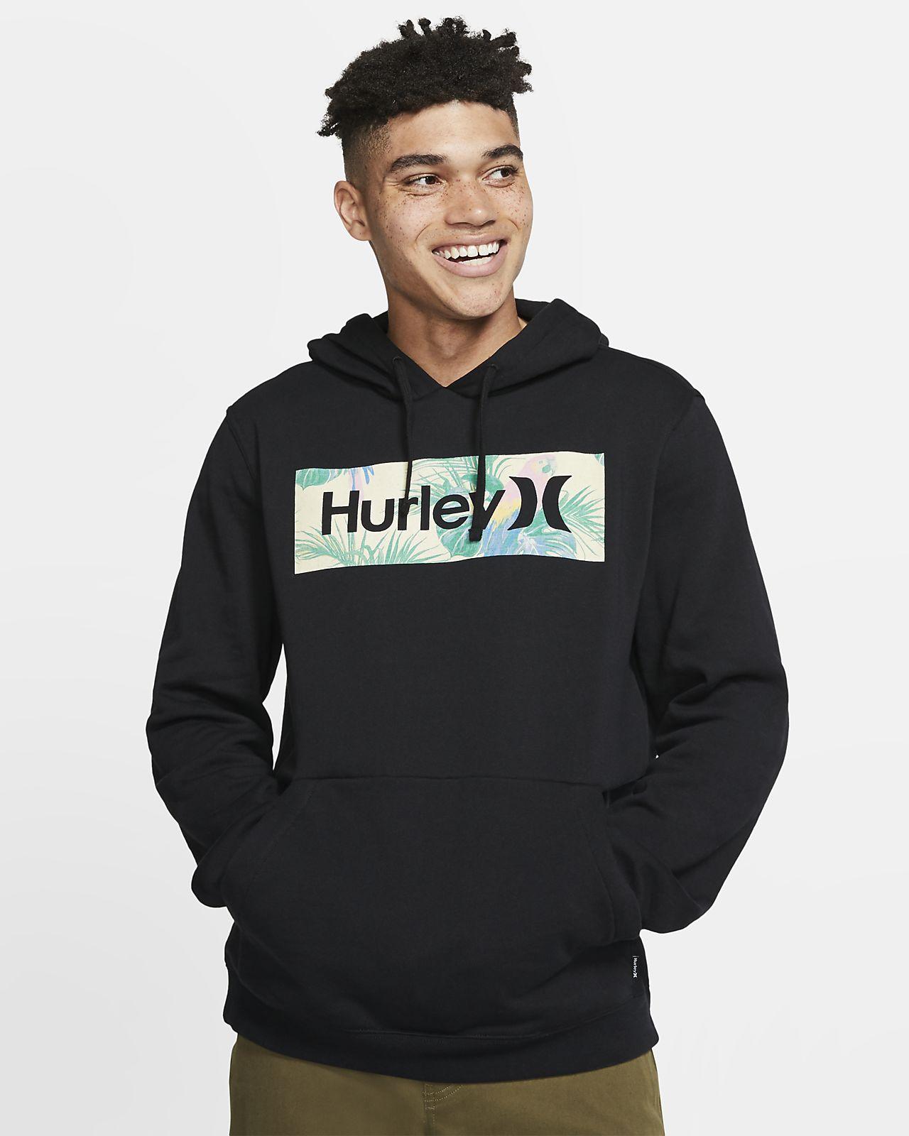 Sudadera con capucha sin cierre de tejido Fleece para hombre Hurley One And Only Boxed Sierra