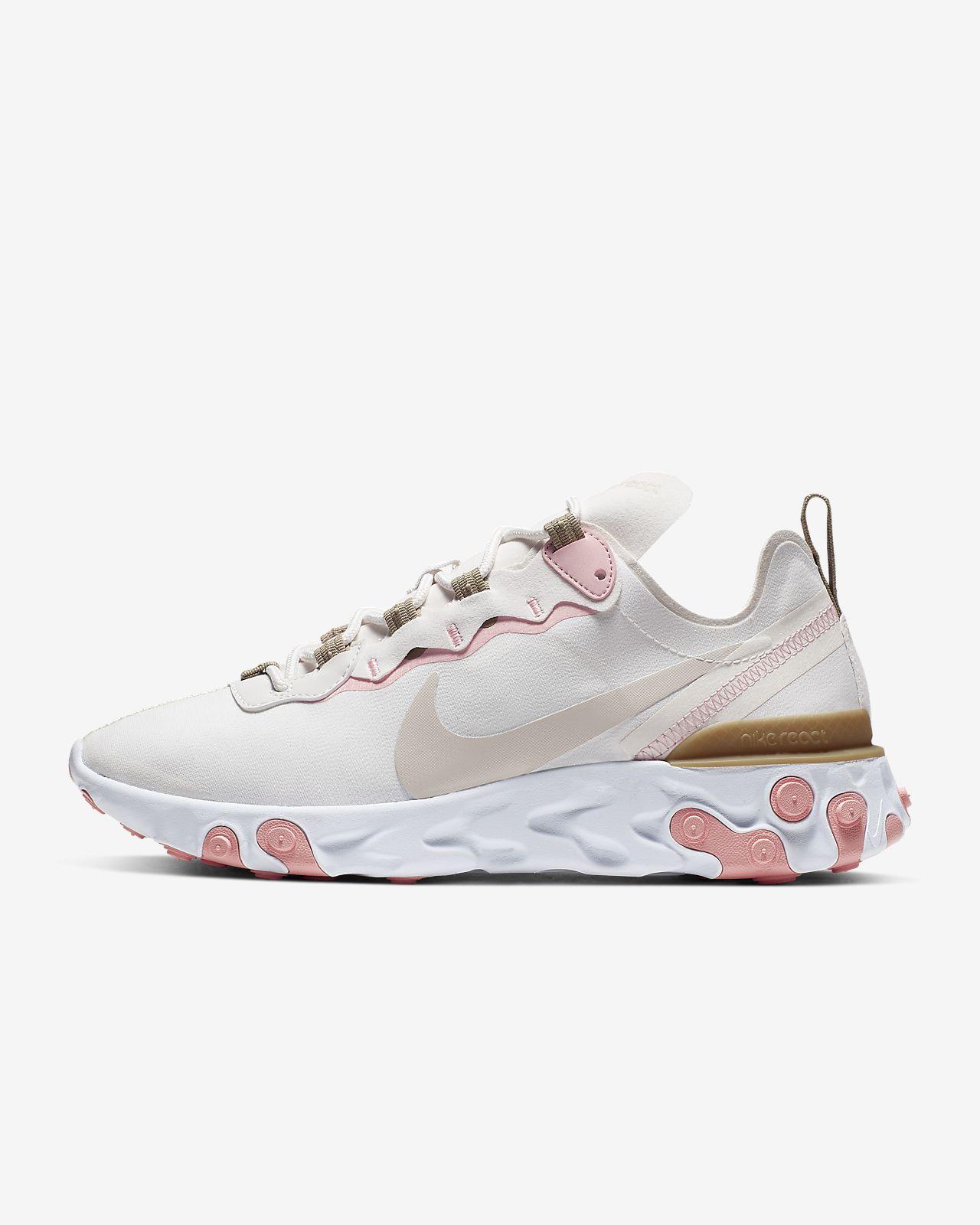 Nike React Element 55-sko til kvinder
