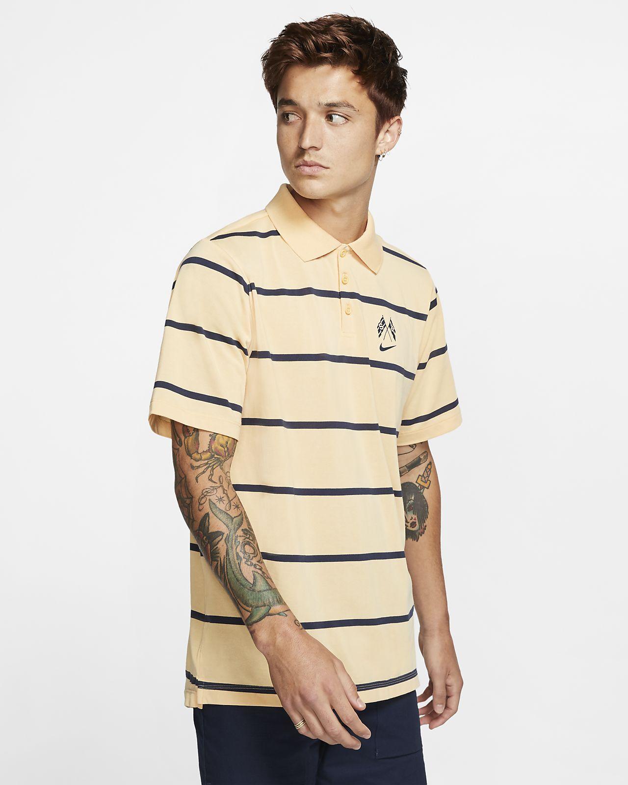Ανδρική μπλούζα πόλο για skateboarding Nike SB Dri-FIT
