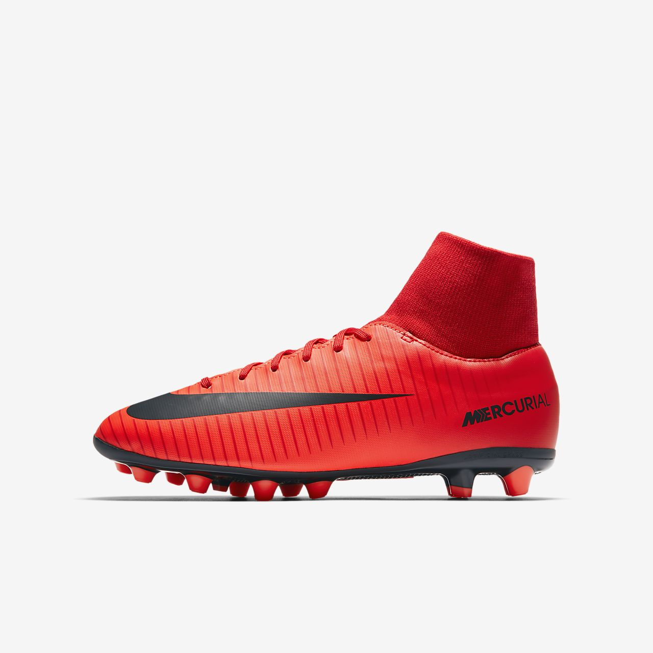 Nike Mercurial Victory VI AG-PRO Artificial-Grass Women's Football Shoes Red/Black tC1673O