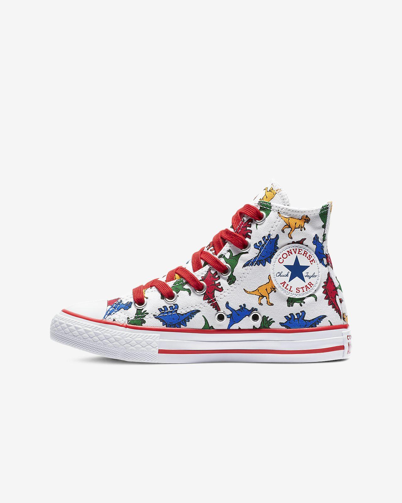 Converse Chuck Taylor All Star Dinoverse High Top Big Kids' Shoe