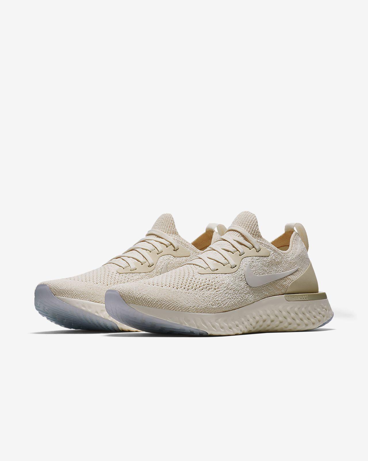 Women's Nike Epic React Flyknit Grey Running training shoes Sizes 6-11