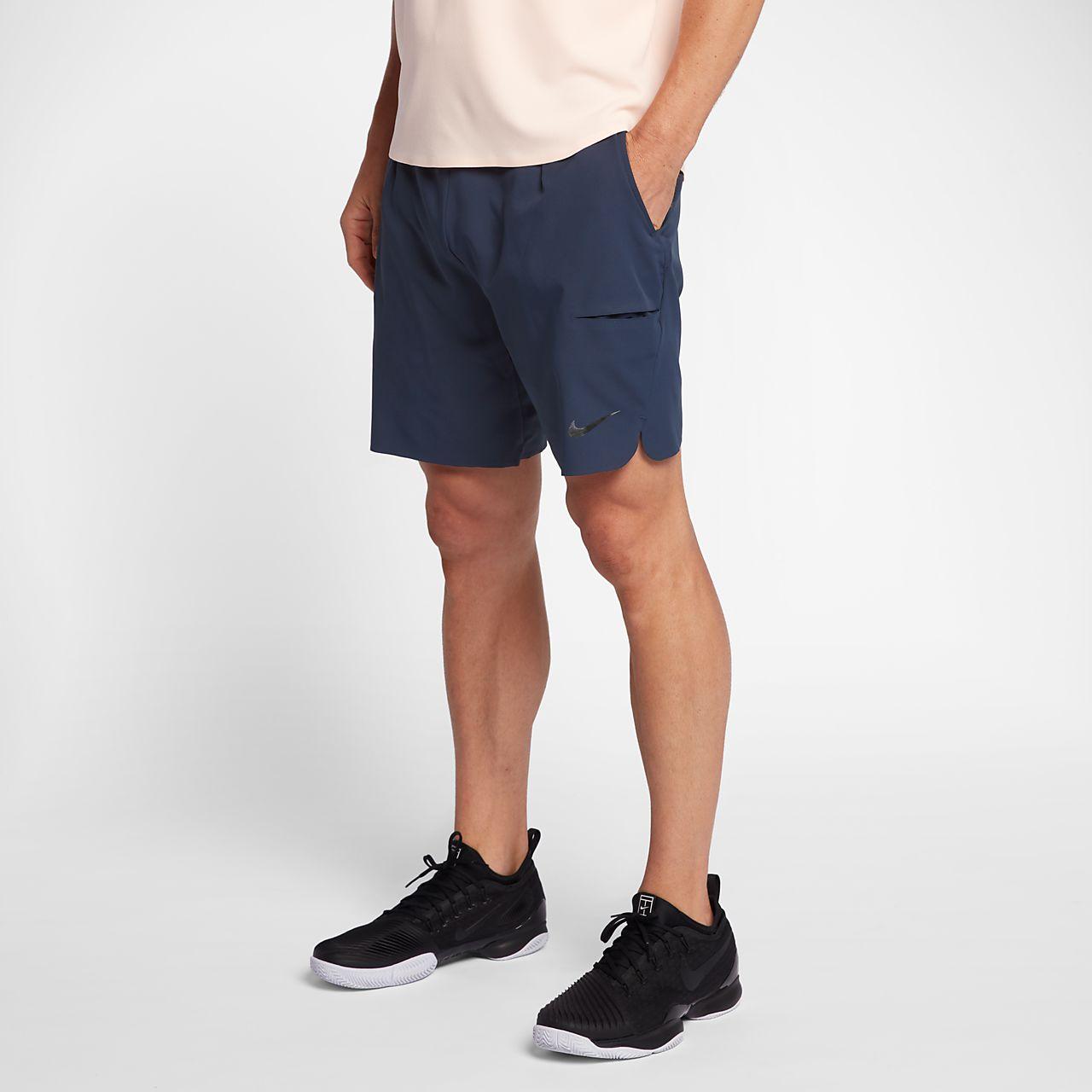 short de tennis nikecourt flex fr 23 cm pour homme lu. Black Bedroom Furniture Sets. Home Design Ideas