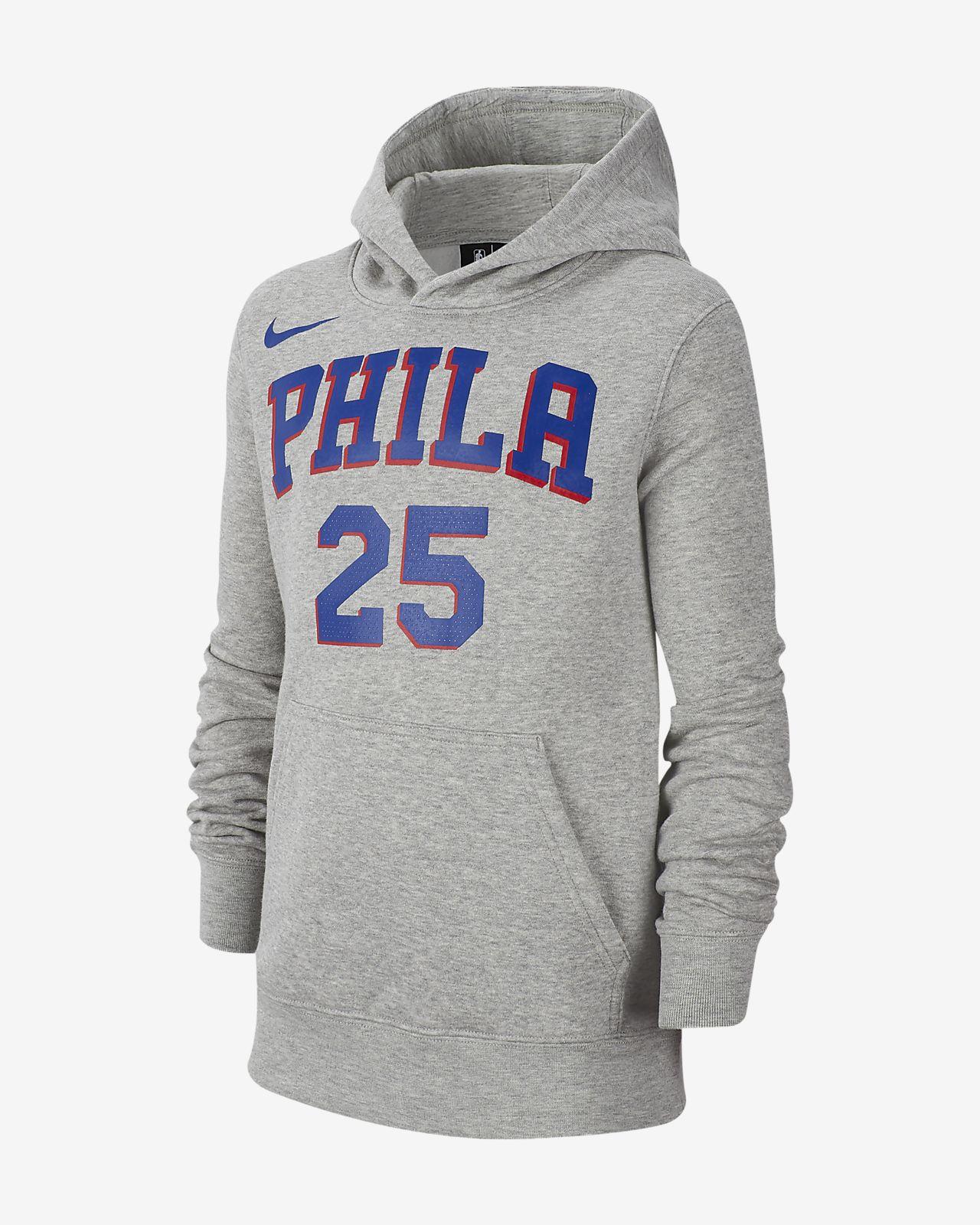 Ben Simmons Philadelphia 76ers Nike Big Kids' NBA Pullover Hoodie