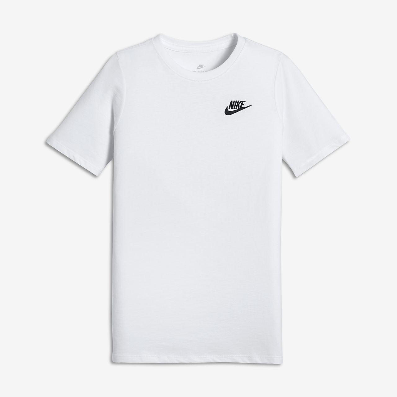 official supplier cheap presenting Nike Futura Logo Older Kids' (Boys') T-Shirt