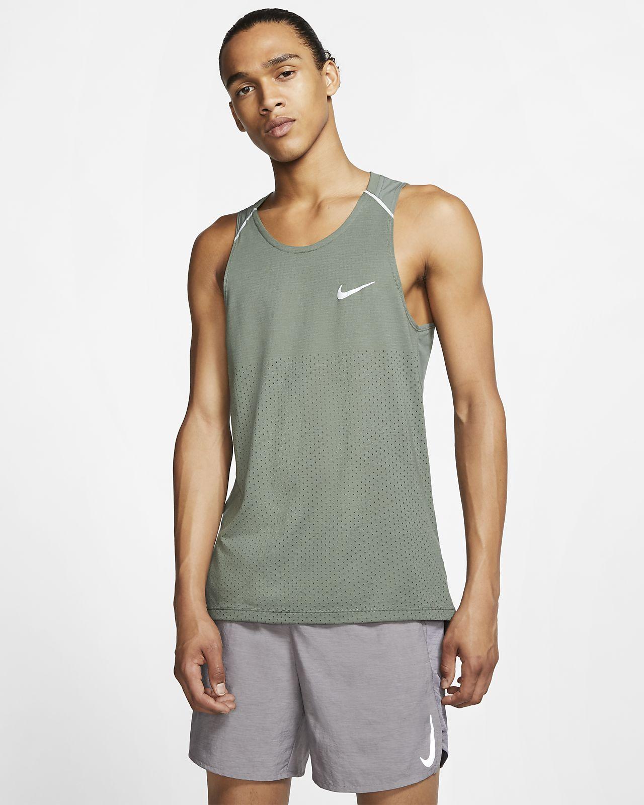 Camiseta de tirantes de running para hombre Nike Rise 365