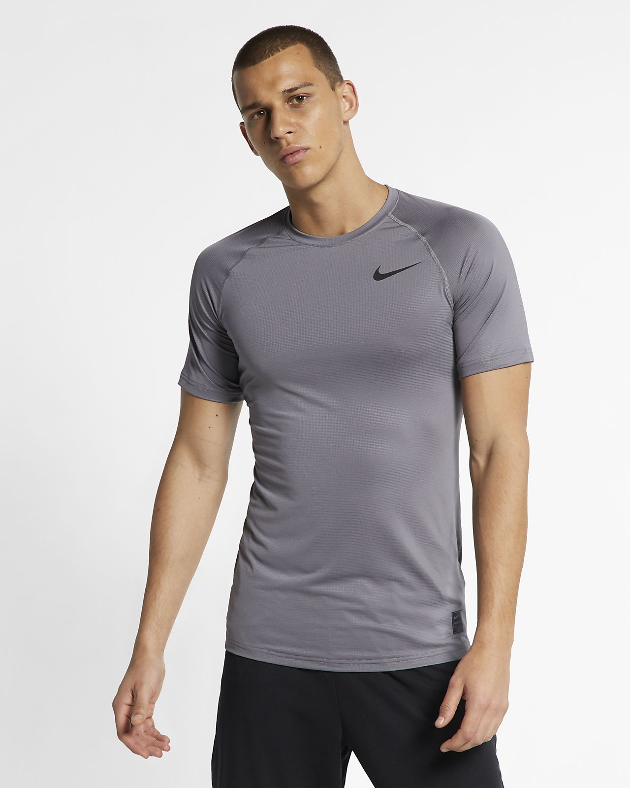Kortärmad tröja Nike Breathe Pro för män