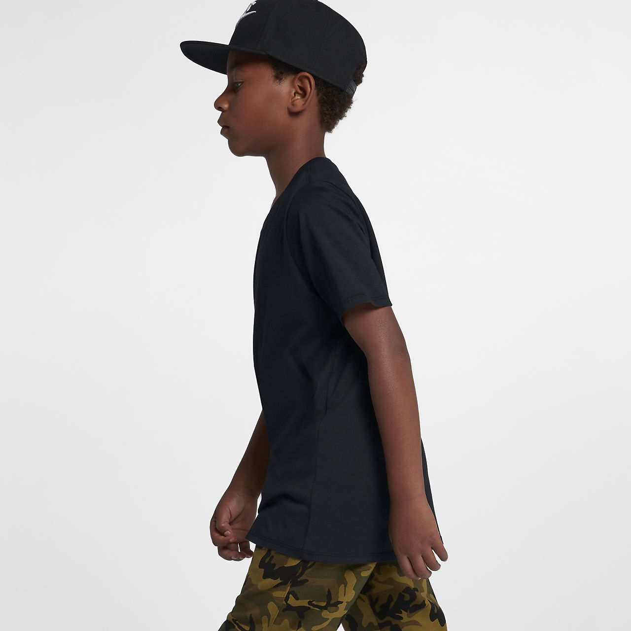 fc189e08 Nike Sportswear Gym Vintage Big Kids' T-Shirt. Nike.com