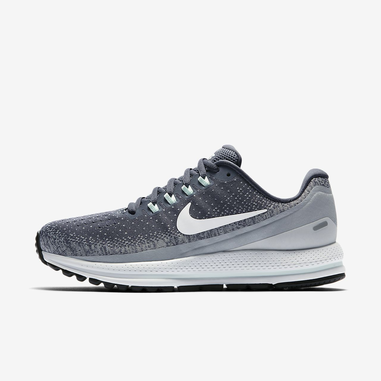 Wmns Nike Air Zoom Vomero 13 - Chaussures Pour Les Hommes / Gris Nike