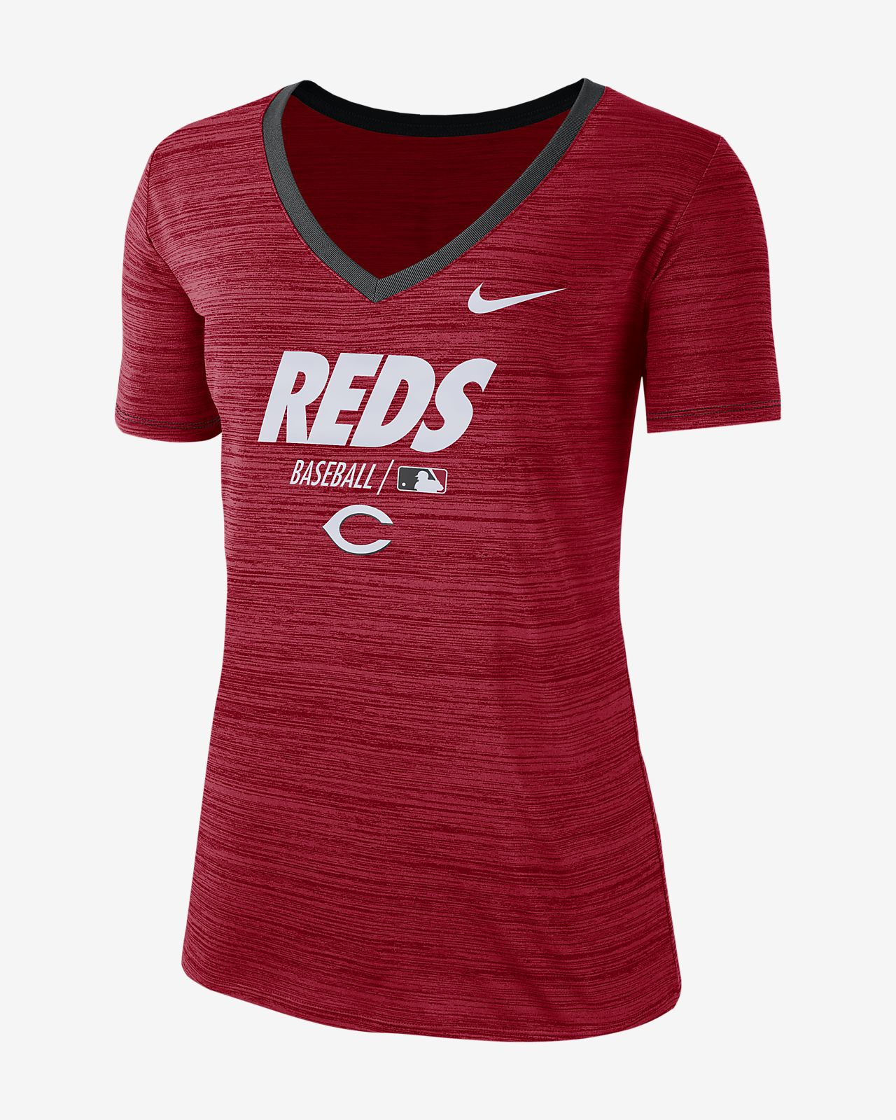 Nike Dri-FIT AC Velocity Team Issue (MLB Reds) Women's T-Shirt