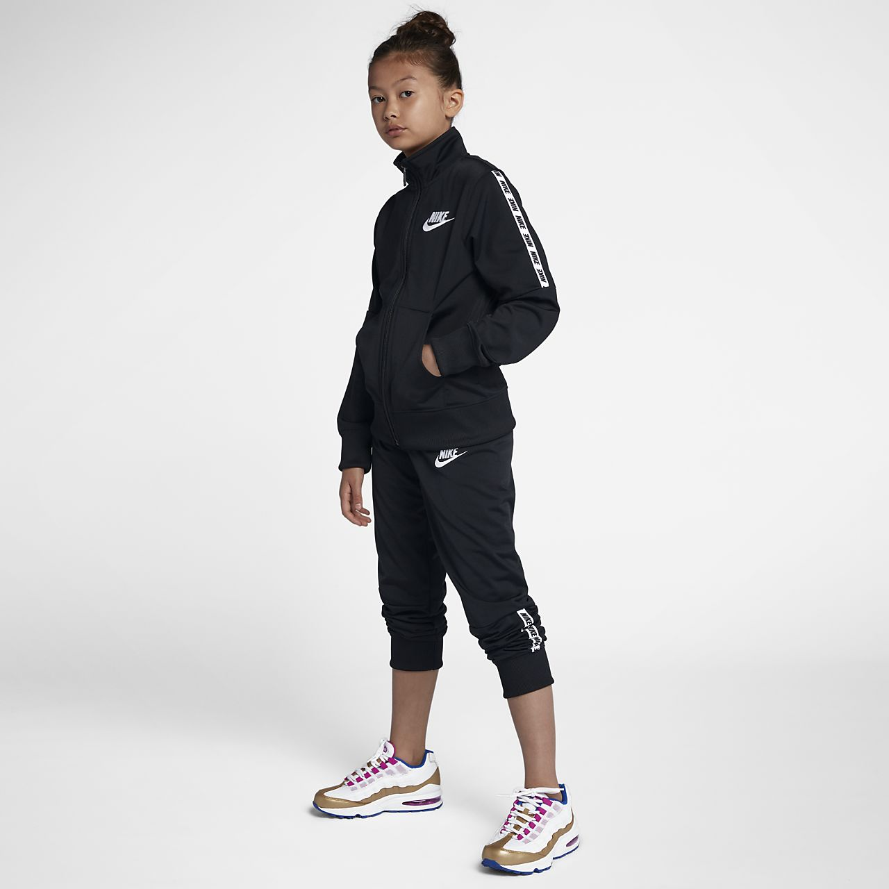 pretty nice ff851 1bea3 ... Nike Sportswear Big Kids  (Girls ) Tracksuit