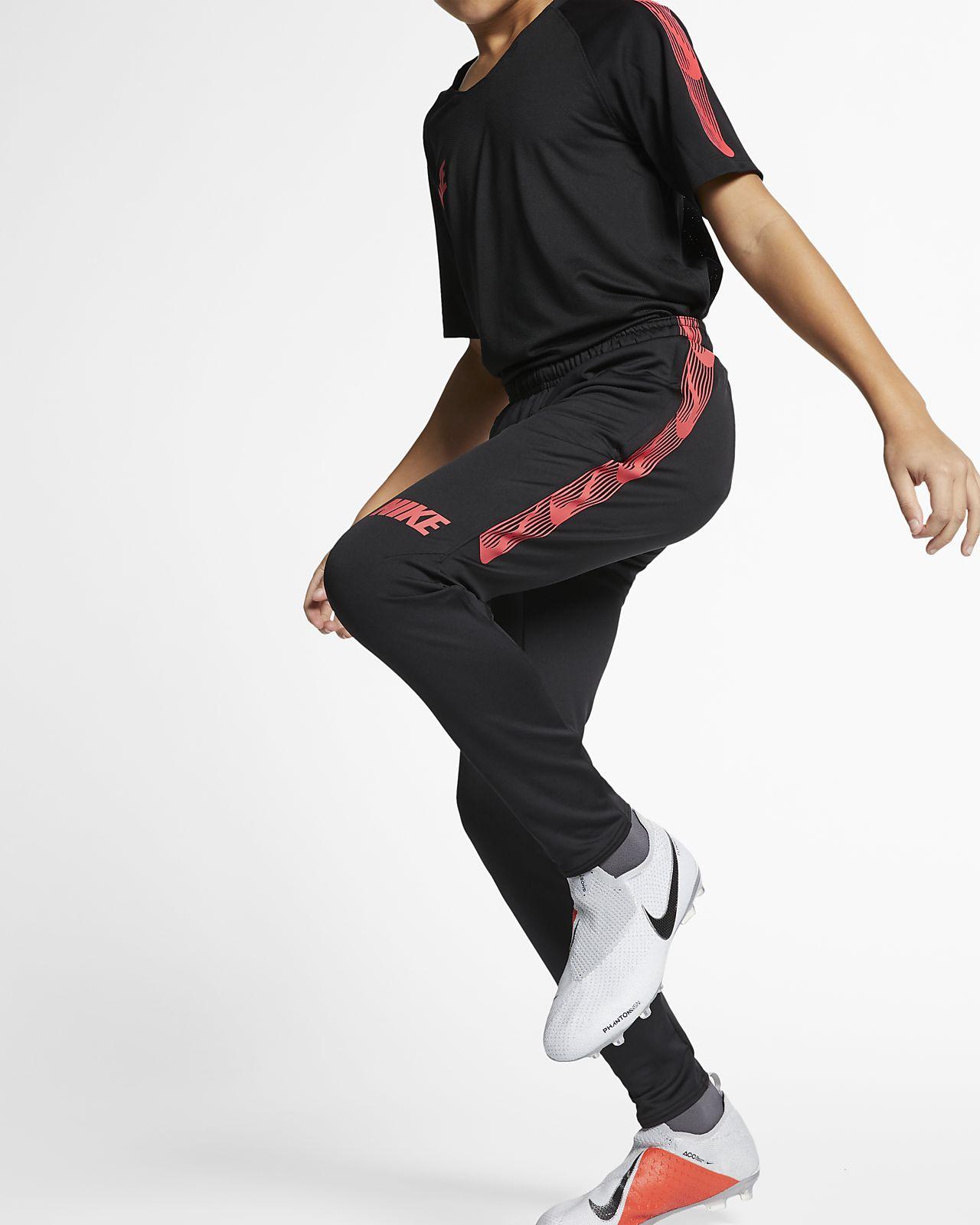 Pantalones de fútbol para niños talla grande Nike Dri-FIT Squad ... 5c66ba20e35c3