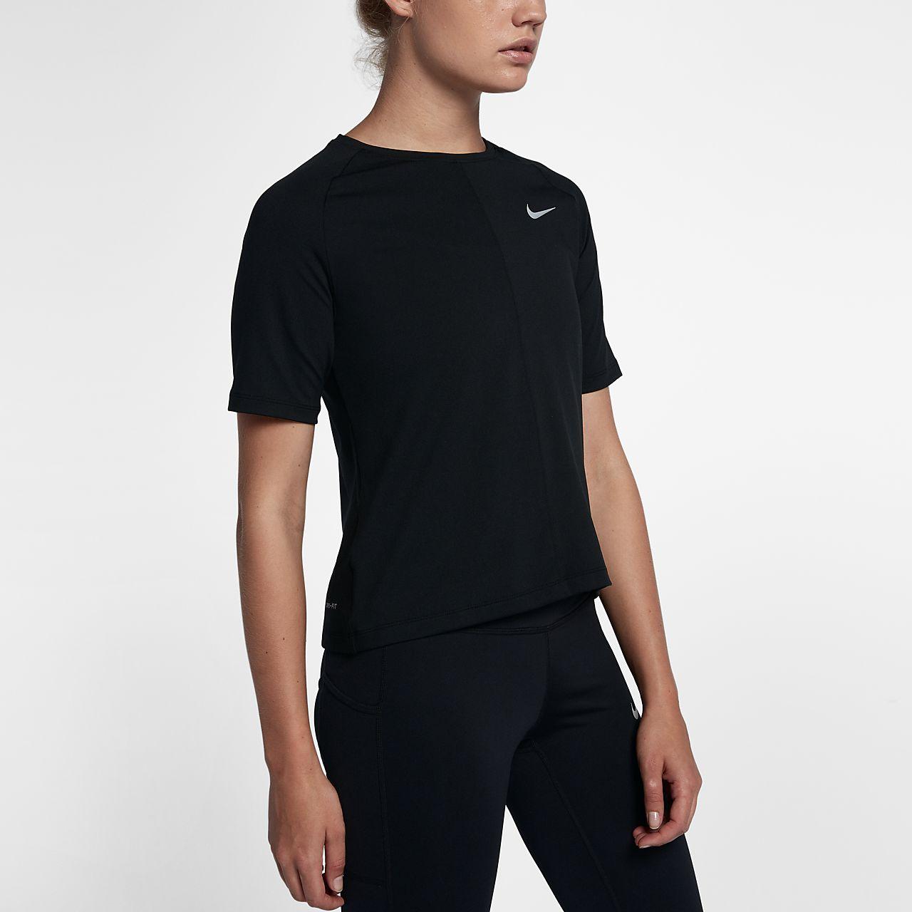... Nike Dri-FIT Element Women's Short-Sleeve Running Top