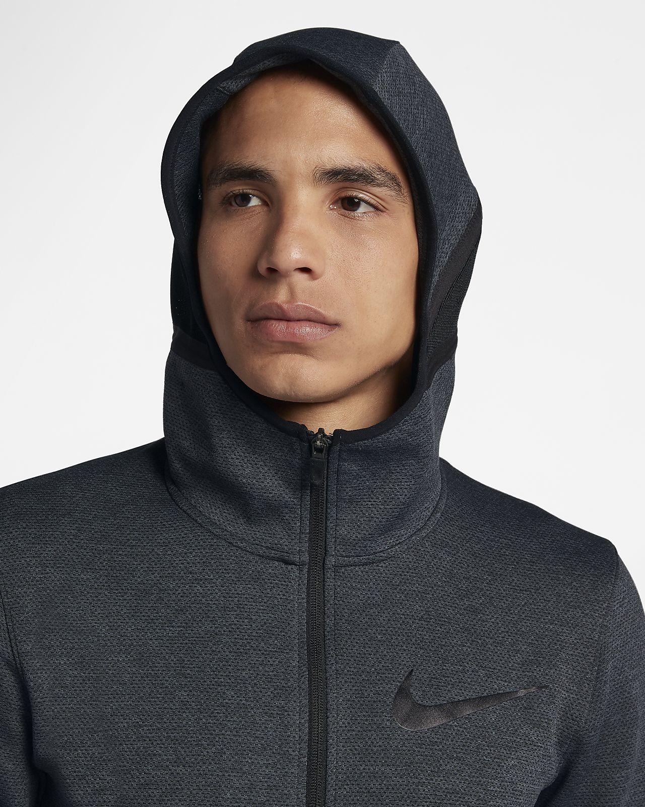 Nike Therma Flex Showtime Sudadera con capucha de baloncesto con cremallera completa Hombre