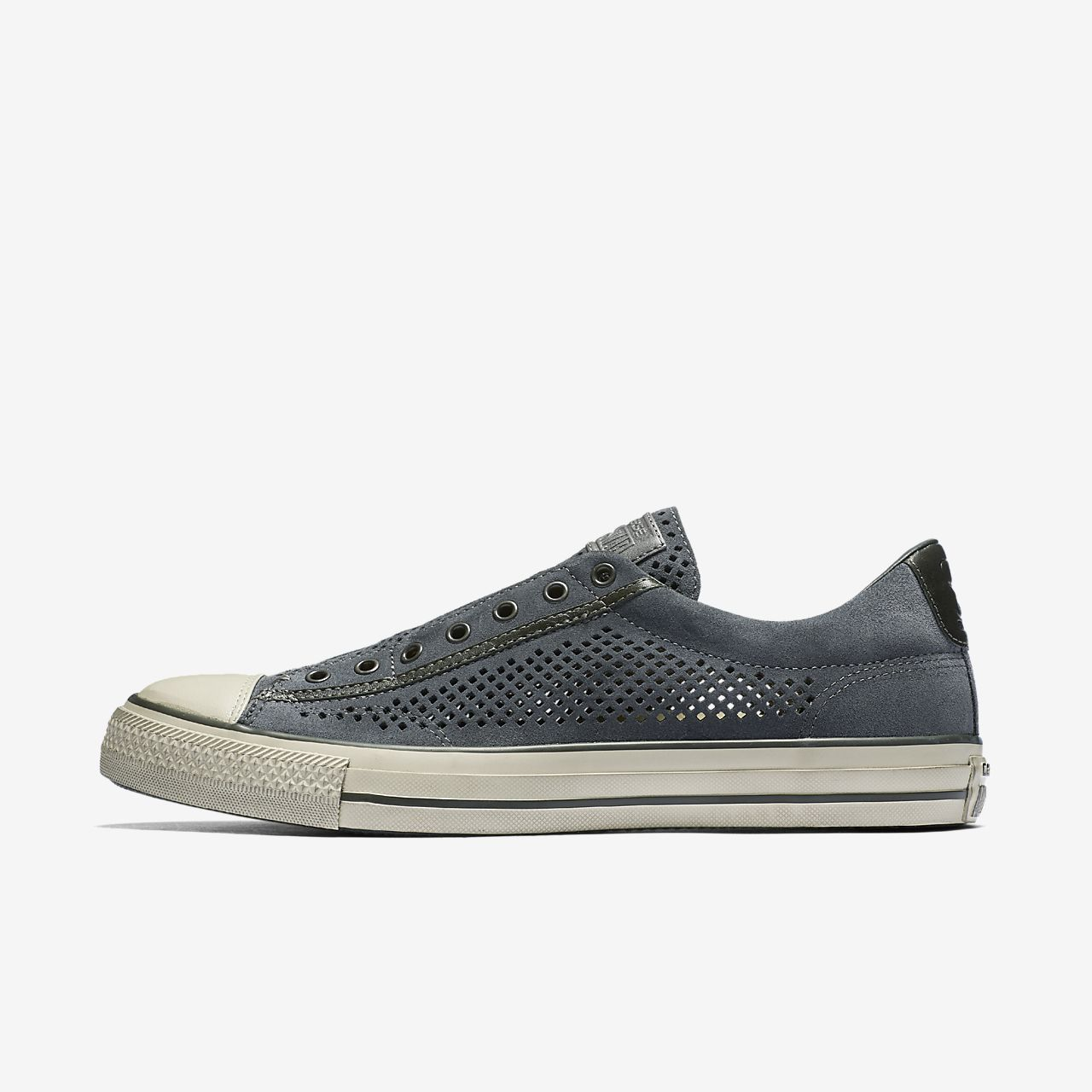 a463bf62f09d71 ... reduced converse x john varvatos chuck taylor all star perforated  leather slip on unisex shoe 44334