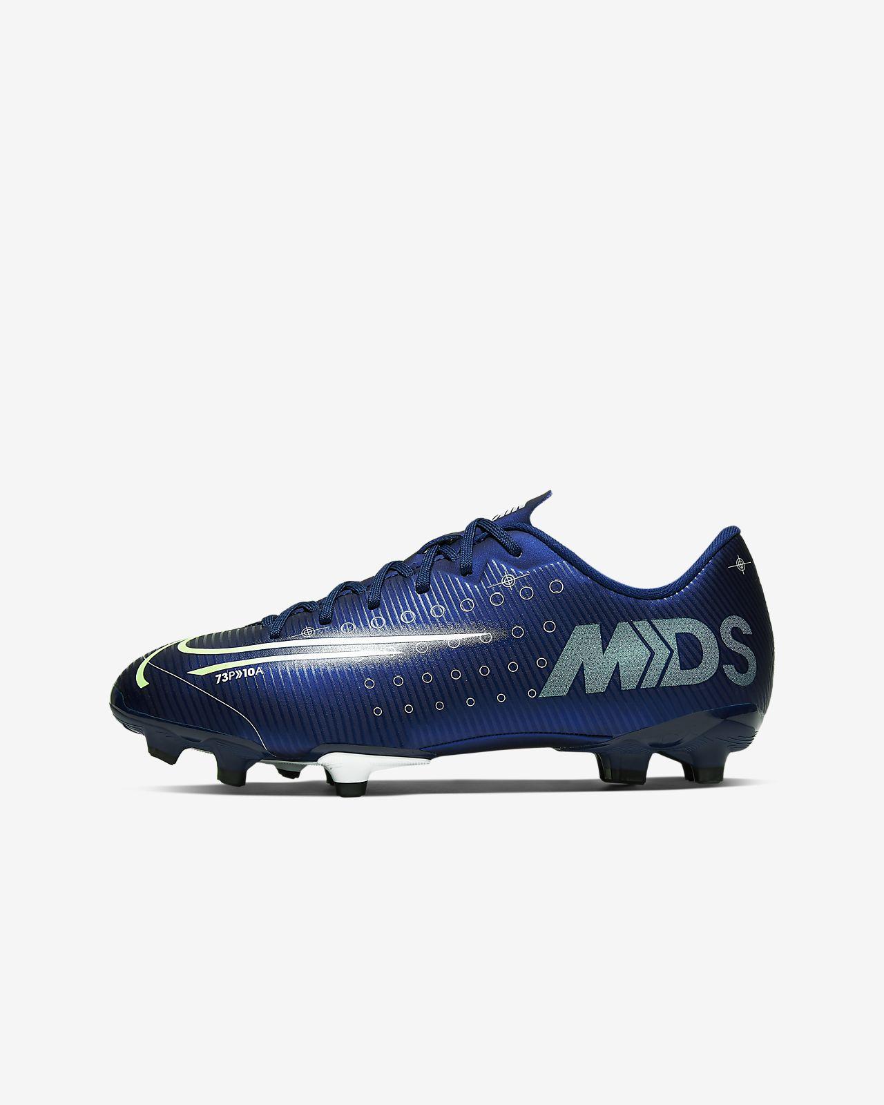 Korki piłkarskie na różne typy nawierzchni dla małych / dużych dzieci Nike Jr. Mercurial Vapor 13 Academy MDS MG