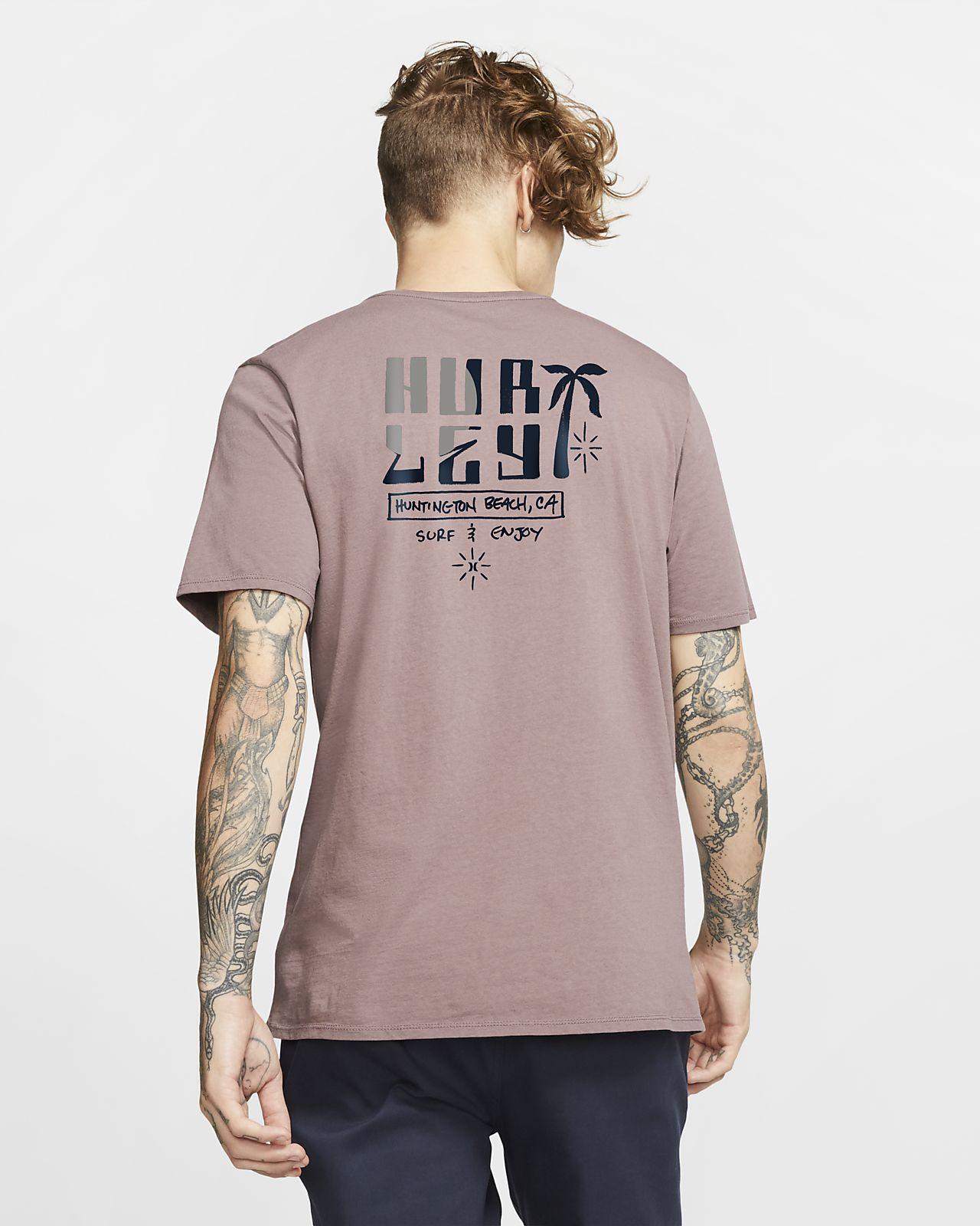 T-shirt Hurley Mesa med premiumpassform för män
