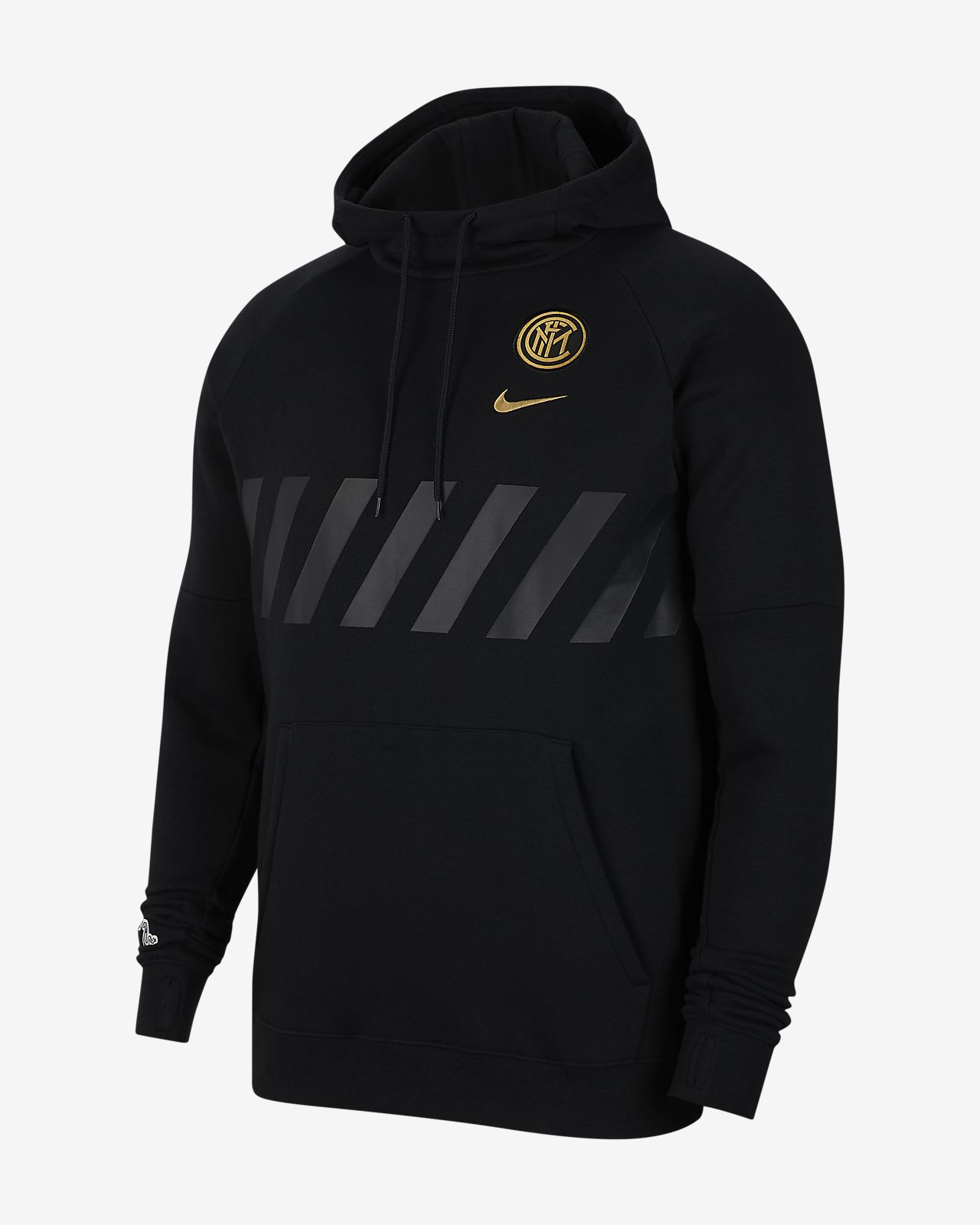 Inter Milan Fleecehoodie voor heren