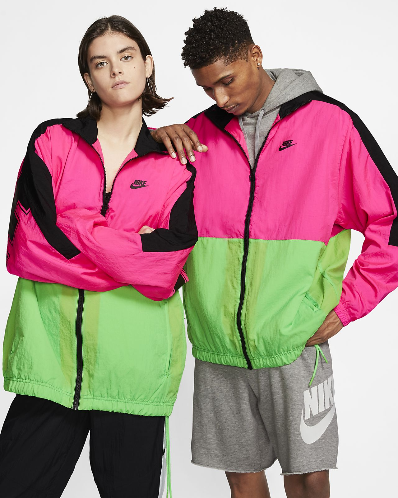 Nike Sportswear-vævet jakke til mænd