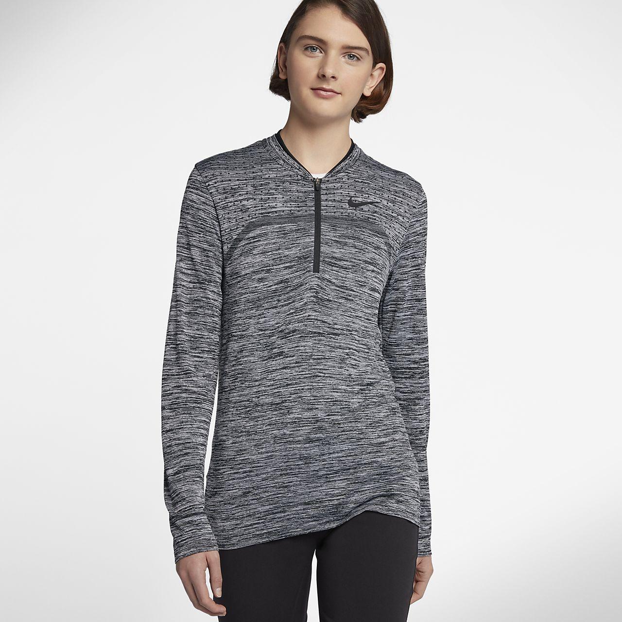 ... Nike Dry Women's Half Zip Golf Top