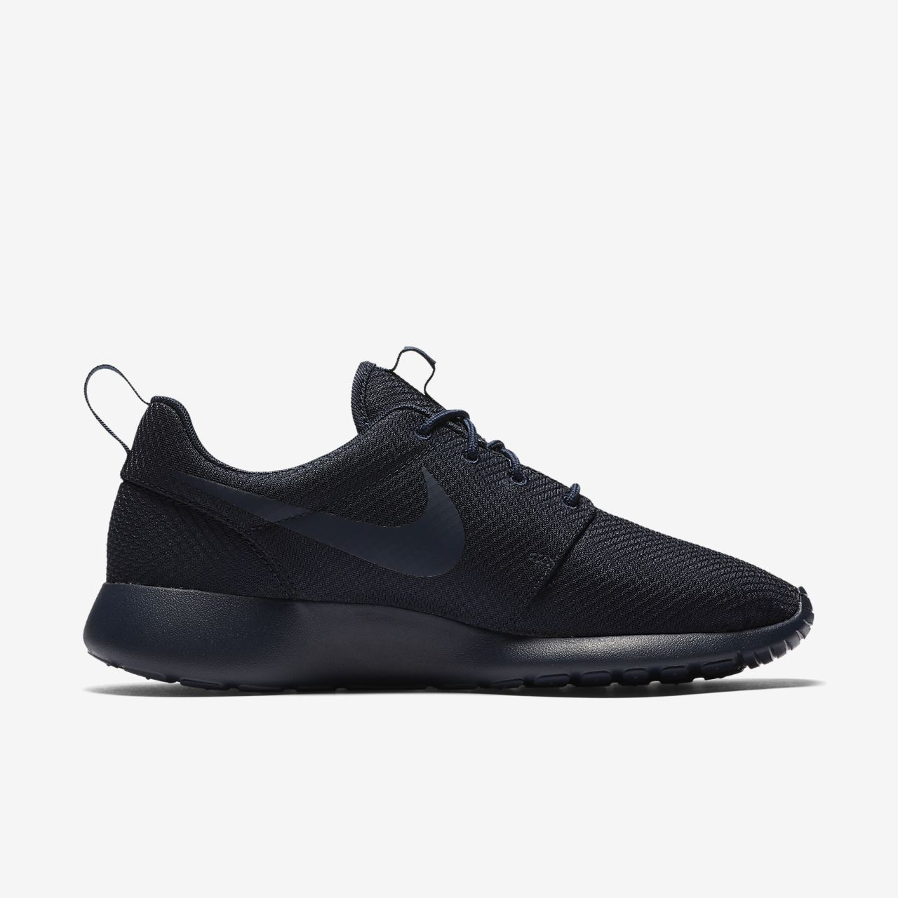 white nike roshe run mens shoe