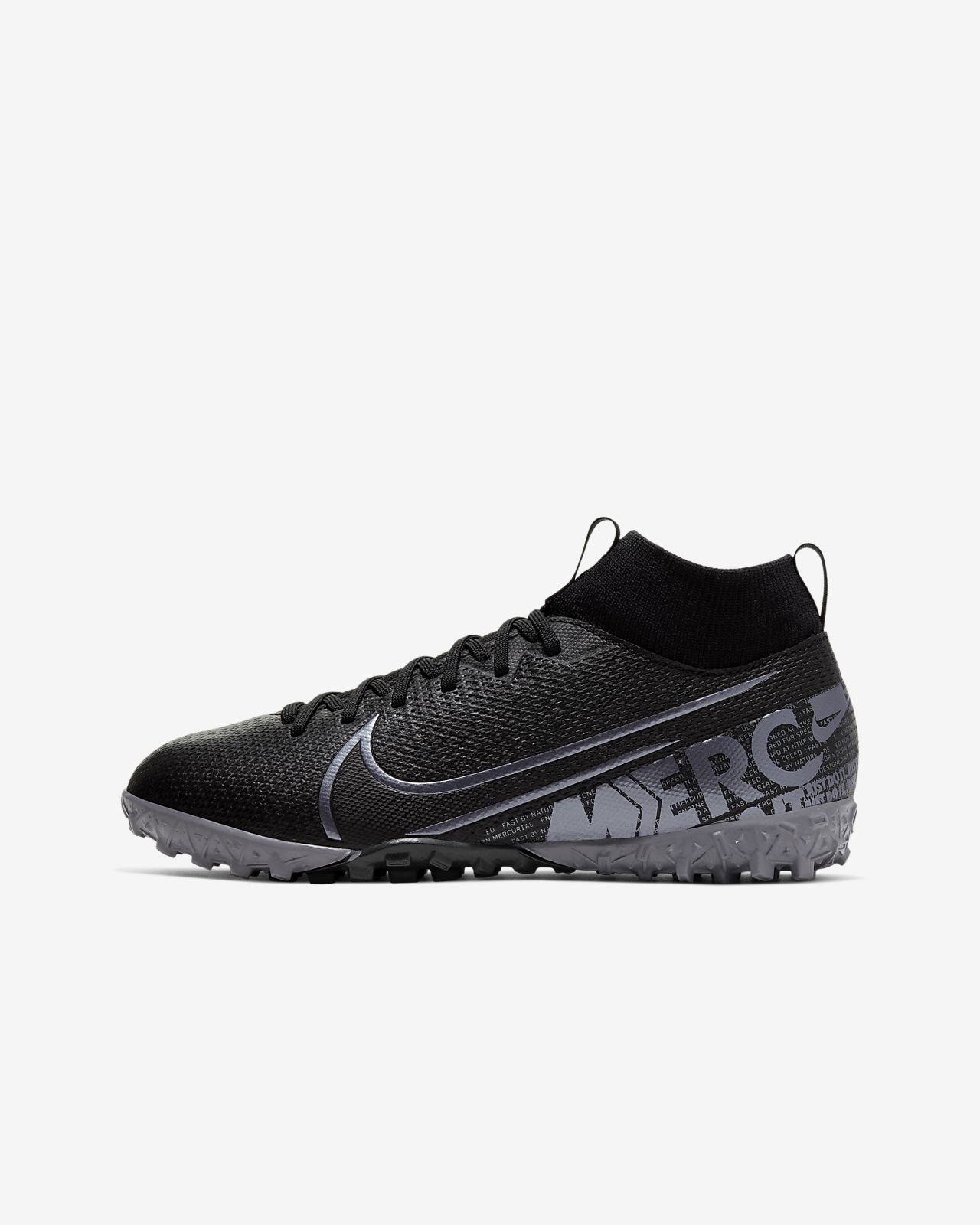 Nike Jr. Mercurial Superfly 7 Academy TF Voetbalschoen voor kleuters/
